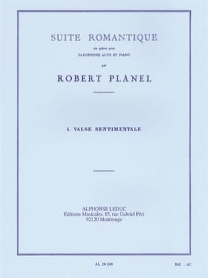 Robert Planel - Romantic Suite Volume 4 - Sentimental Waltz - Partition - di-arezzo.co.uk
