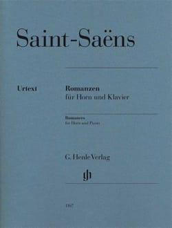 Romanzen opus 36 et opus 67 SAINT-SAËNS Partition Cor - laflutedepan