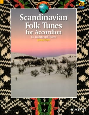 Scandinavian Folk Tunes for Accordion Traditionnel laflutedepan