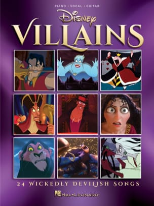 Disney Villains DISNEY Partition Musique de film - laflutedepan