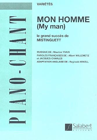 Mon Homme - Mistinguett - Partition - laflutedepan.com