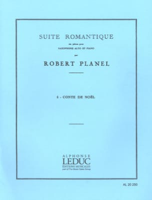 Robert Planel - Romantic Suite Volume 5 - Christmas Tale - Partition - di-arezzo.co.uk