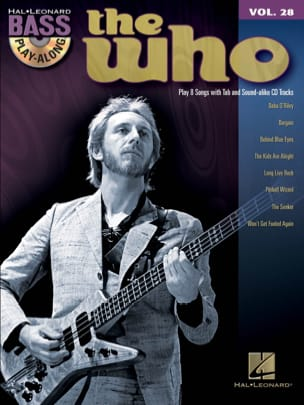 Bass play-along volume 28 - The Who The Who Partition laflutedepan