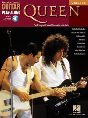 Guitar Play-Along Volume 112 - Queen Queen Partition laflutedepan
