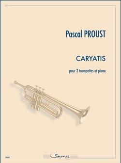 Caryatis Pascal Proust Partition Trompette - laflutedepan