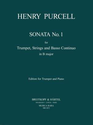 Sonata. Trompette PURCELL Partition Trompette - laflutedepan
