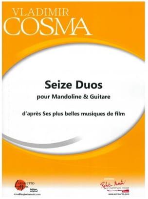 Seize Duos Pour Mandoline et Guitare Vladimir Cosma laflutedepan
