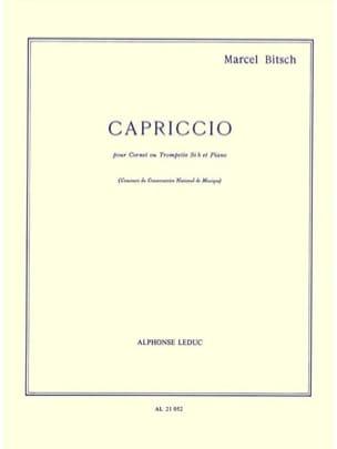 Capriccio Marcel Bitsch Partition Trompette - laflutedepan