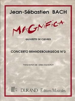 Concerto BWV 1041 En Sol Mineur BACH Partition laflutedepan