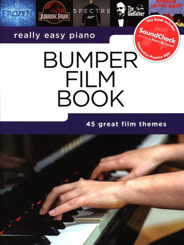 Really Easy Piano - Bumper Film Book - laflutedepan.com