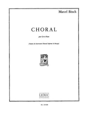 Marcel Bitsch - Choral - Partition - di-arezzo.com