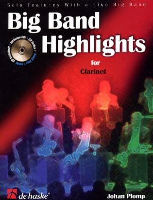 Big Band Highlights For Clarinet Johan Plomp Partition laflutedepan