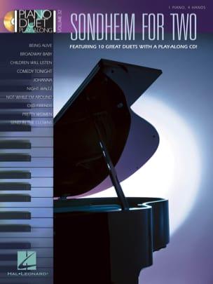 Piano Duet Play-Along Volume 32 - Sondheim for Two - laflutedepan.com