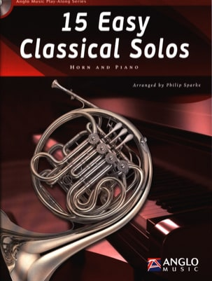 15 Easy classical solos Partition Cor - laflutedepan