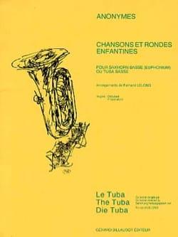 Chansons et Rondes Enfantines Partition Tuba - laflutedepan