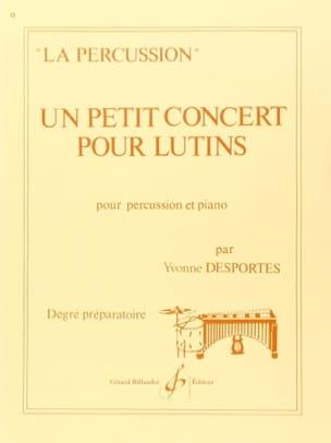 Un Petit Concert Pour Lutins Yvonne Desportes Partition laflutedepan