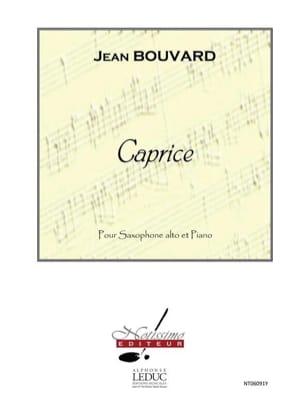Caprice Jean Bouvard Partition Saxophone - laflutedepan