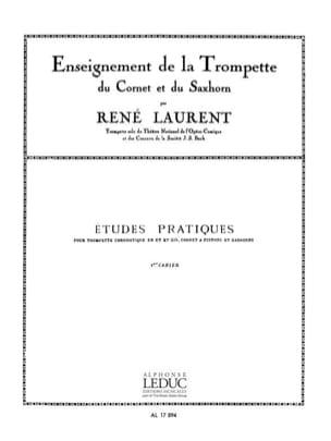 Etudes Pratiques Volume 1 René Laurent Partition laflutedepan