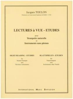 Lectures A Vue-Etudes - Jacques Toulon - Partition - laflutedepan.com