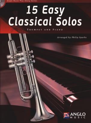 15 Easy classical solos Partition Trompette - laflutedepan
