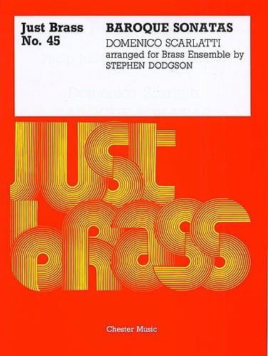 Baroque Sonatas - Just Brass N° 45 - SCARLATTI - laflutedepan.com