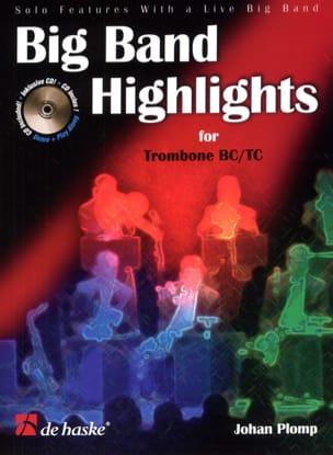 Big Band Highlights For Trombone TC/BC Johan Plomp laflutedepan