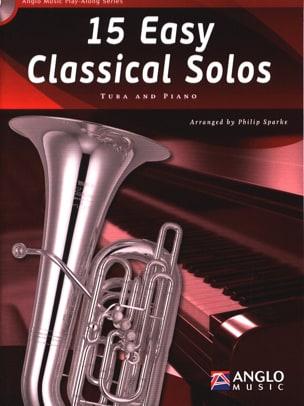 15 Easy classical solos Partition Tuba - laflutedepan