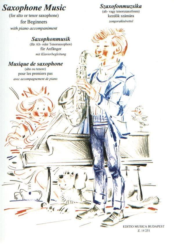 Saxophone Music - Partition - Saxophone - laflutedepan.com