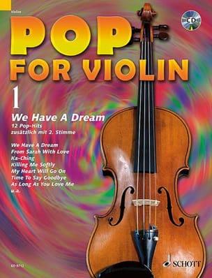 Pop for Violin Volume 1 - Partition - Violon - laflutedepan.com