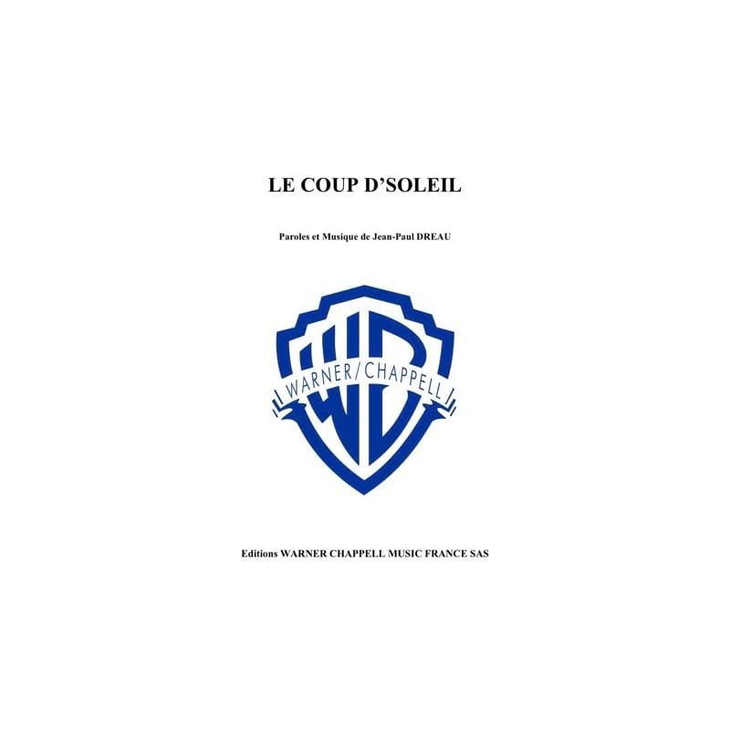 LE COUP D'SOLEIL - Richard Cocciante - Partition - laflutedepan.com