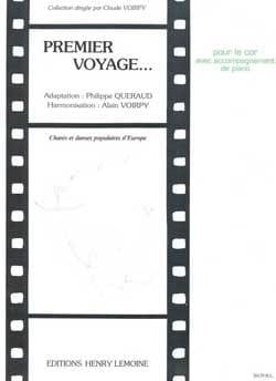 Premier Voyage Partition Cor - laflutedepan