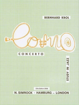 Concerto Study In Jazz. Cor Bernhard Krol Partition Cor - laflutedepan