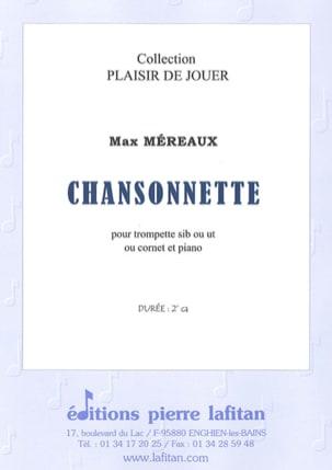 Chansonnette Max Méreaux Partition Trompette - laflutedepan