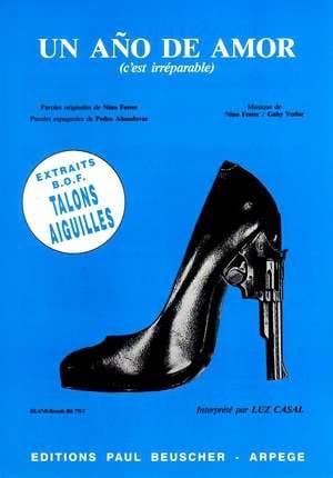 Nino Ferrer - Un año de Amor (Es irreparable) - Stilettos de cine - Partition - di-arezzo.es