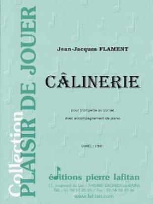 Câlinerie - Jean-Jacques Flament - Partition - laflutedepan.com