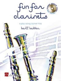 Fun For Clarinets Bart Bakker Partition Clarinette - laflutedepan