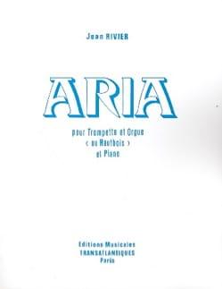 Aria Jean Rivier Partition Trompette - laflutedepan