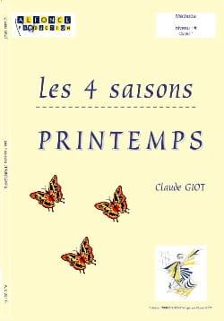 Les 4 Saisons - Printemps Claude Giot Partition laflutedepan