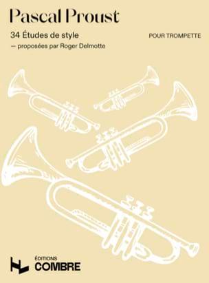 34 Etudes de styles Pascal Proust Partition Trompette - laflutedepan