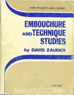 Embouchure And Technique Studies For Trumpet - laflutedepan.com