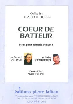 Coeur de batteur Zielinski Bernard / Nierenberger Michel laflutedepan