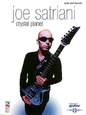 Crystal Planet - Joe Satriani - Partition - laflutedepan.com