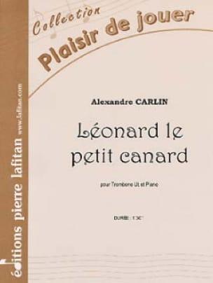 Leonard le petit canard - Alexandre Carlin - laflutedepan.com
