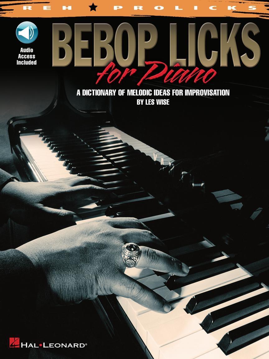 Bebop Licks For Piano - Partition - Jazz - laflutedepan.com
