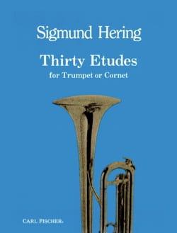 30 Etudes Sigmund Hering Partition Trompette - laflutedepan