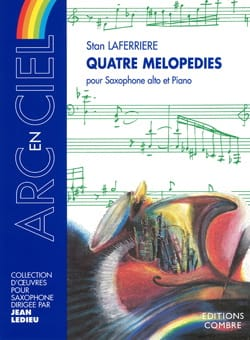 Quatre Mélopédies Stan Laferriere Partition Saxophone - laflutedepan