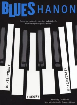 Blues Hanon Revised Edition Leo Alfassy Partition Jazz - laflutedepan