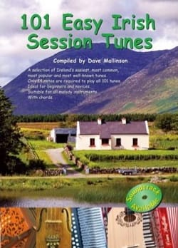 101 Easy Irish Session Tunes Traditionnel Partition laflutedepan