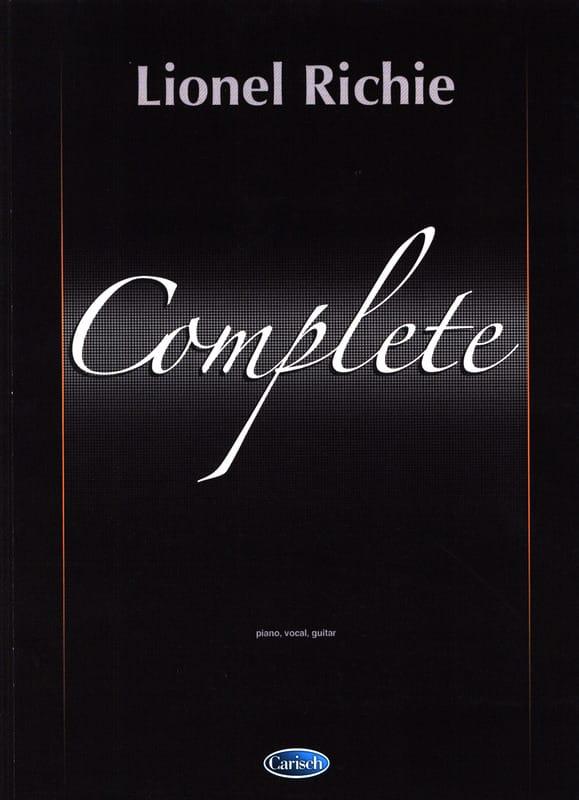 Lionel Richie Complete - Lionel Richie - Partition - laflutedepan.com