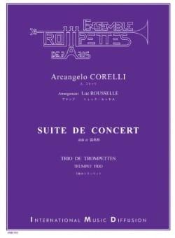 Suite de concert - CORELLI - Partition - Trompette - laflutedepan.com
